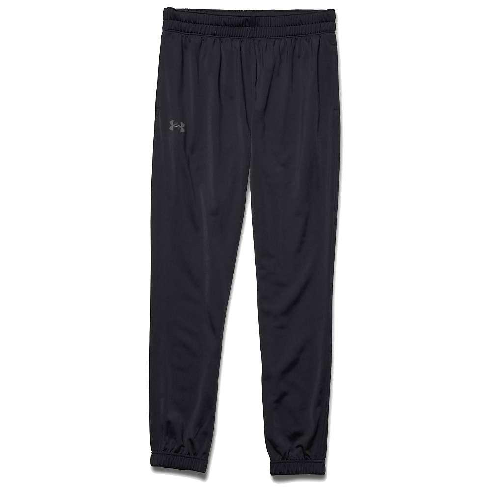 Under Armour Men's UA Relentless Tapered Warm-Up Pant - Medium - Black / Black / Graphite