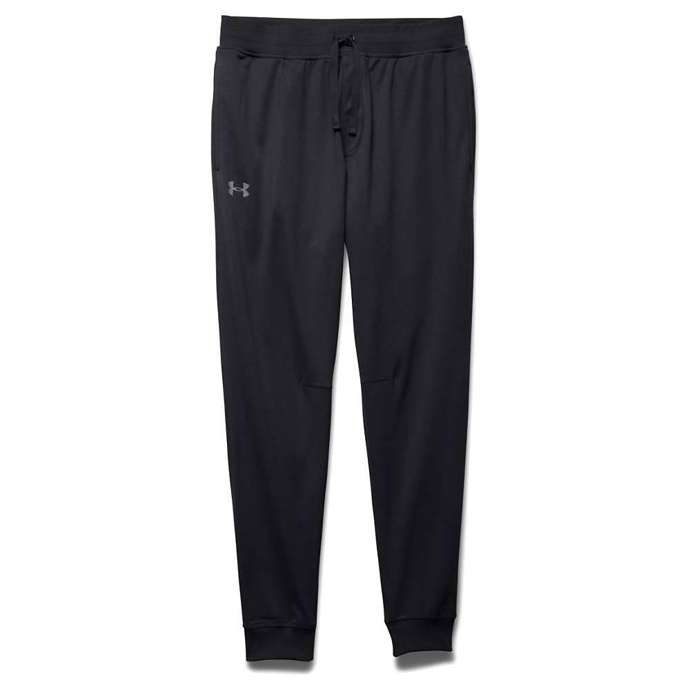 Under Armour Men's UA Sportstyle Jogger Pant - Large - Black / Black / Steel