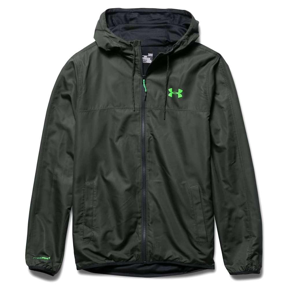 Under Armour Men's Sportstyle Windbreaker Jacket - Small - Combat Green / Black / Lazer Green