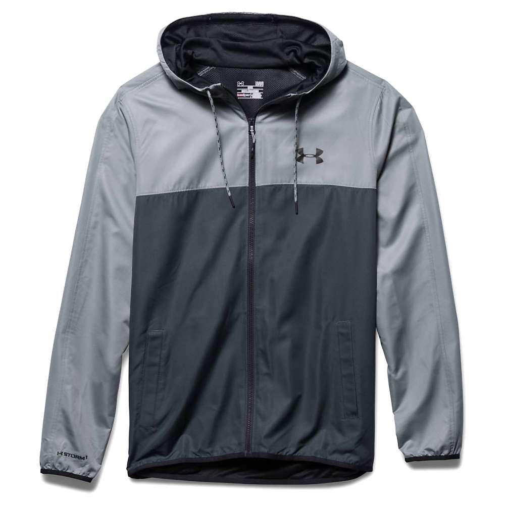 Under Armour Men's Sportstyle Windbreaker Jacket - Medium - Stealth Grey / Steel / Black