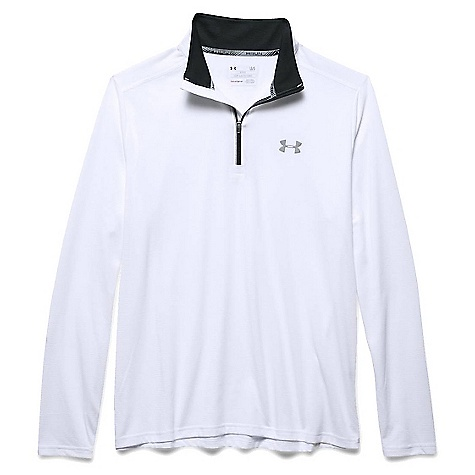 Under Armour Men's Threadborne Streaker 1/4 Zip Top White / Black / Reflective