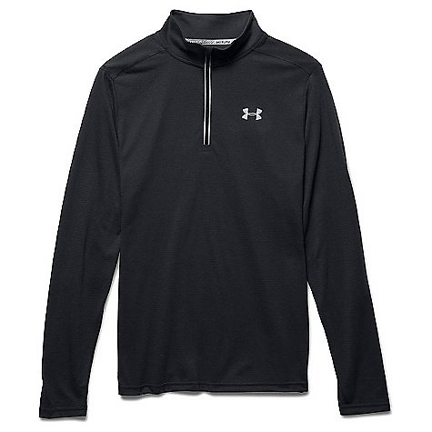 Under Armour Men's Threadborne Streaker 1/4 Zip Top Black / Black / Reflective 001