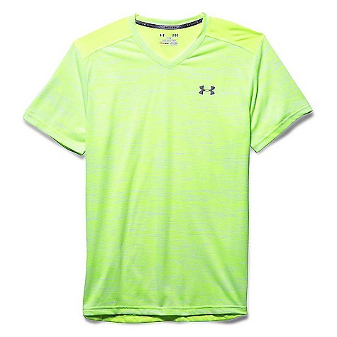 Under Armour Men's Streaker Printed V Neck SS Tee 3047852