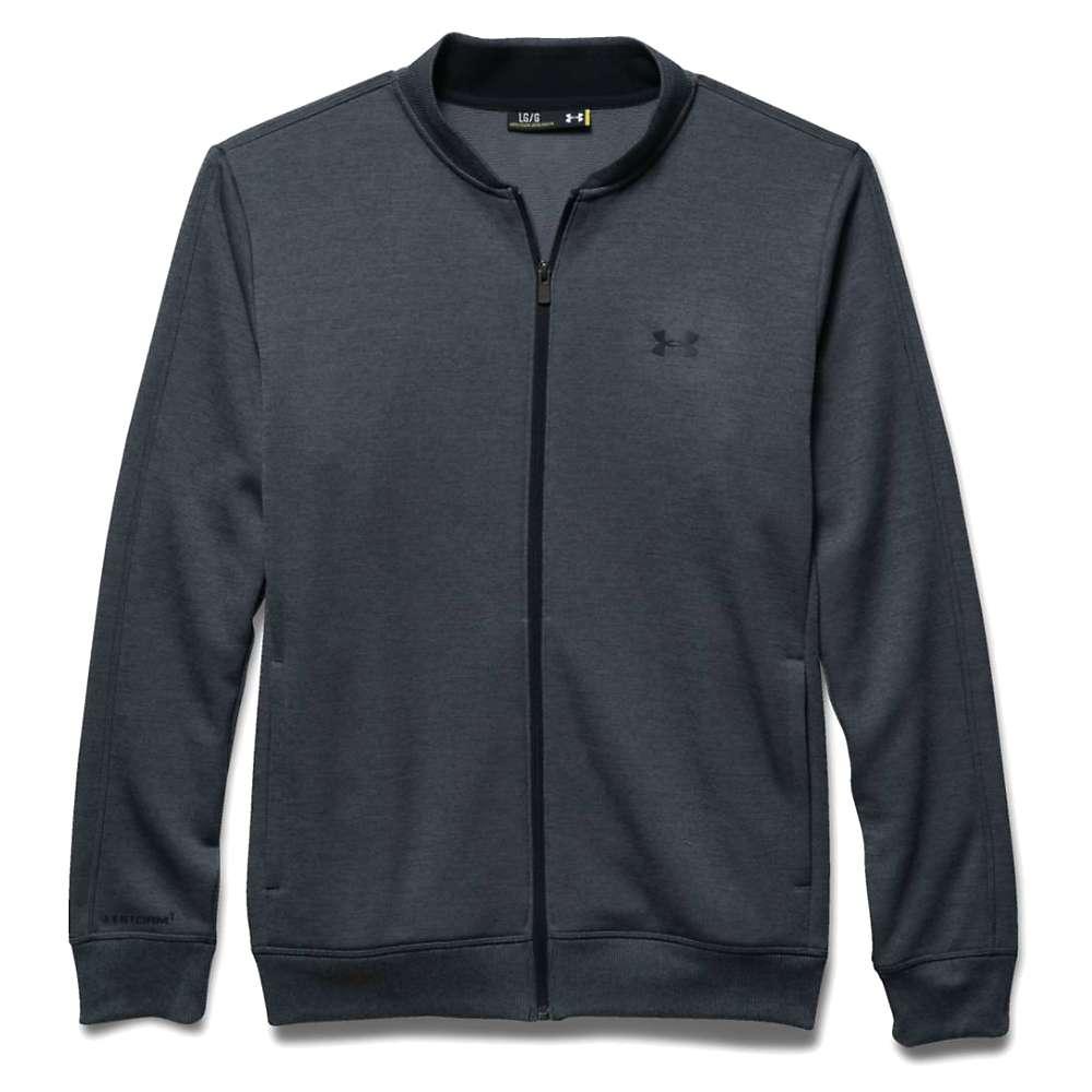 Under Armour Men's Storm Full Zip Sweater Fleece - XXL - Stealth Gray / Black / Black