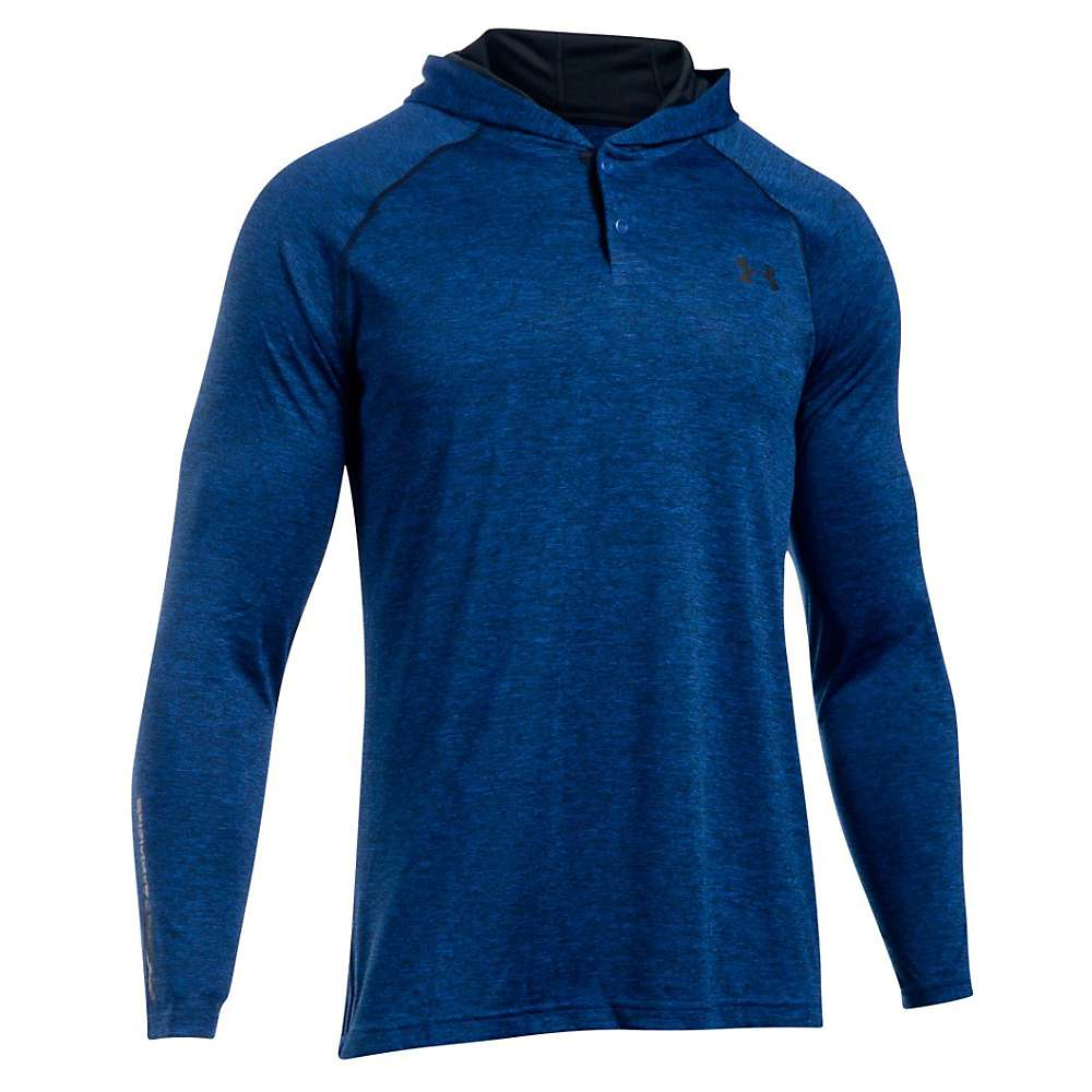 Under Armour Men's UA Tech Popover Henley - Small - Royal / Black