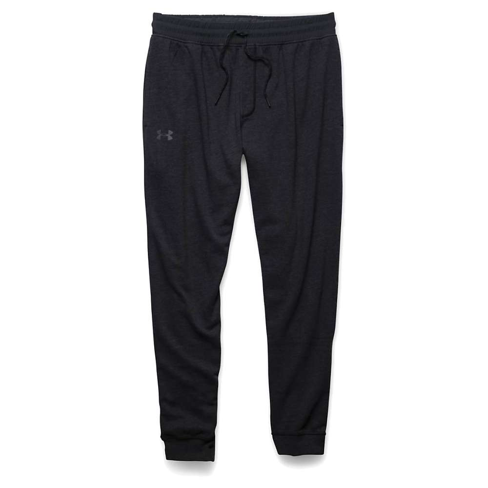 Under Armour Men's Triblend Fleece Jogger Pant - Small - Asphalt Heather / Black / Black