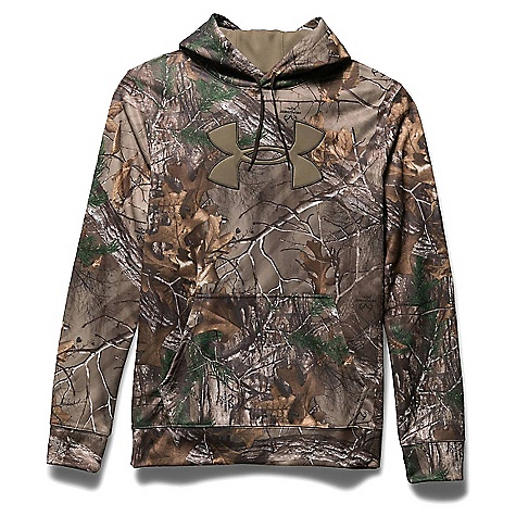 Under Armour Men's Camo Big Logo Hoodie Realtree Ap-Xtra