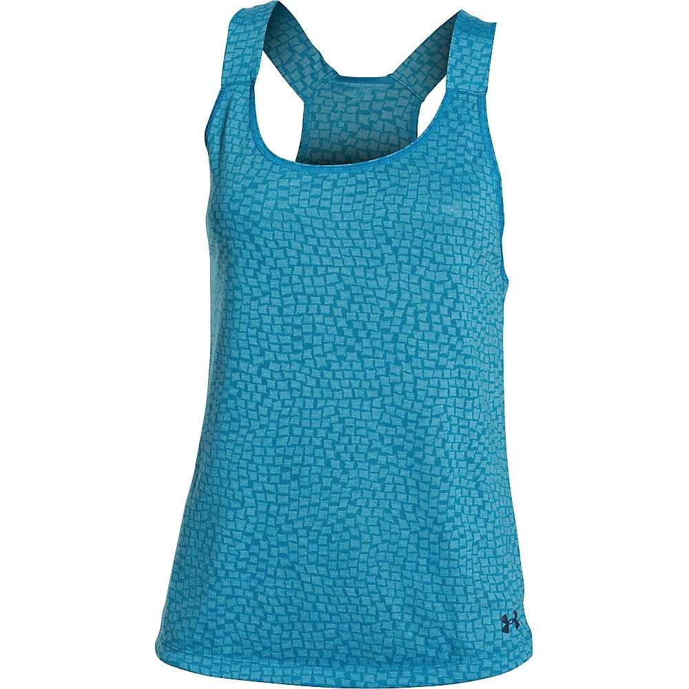 Under Armour Women's Chessie Tank - Medium - Aqua Blue
