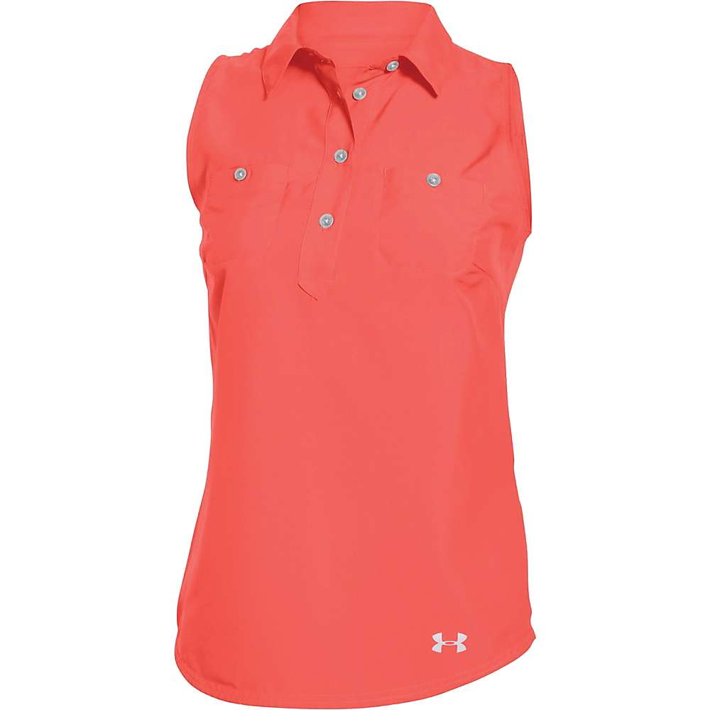 Under Armour Women's Coolswitch Thermocline Amalgam Tank - Small - After Burn
