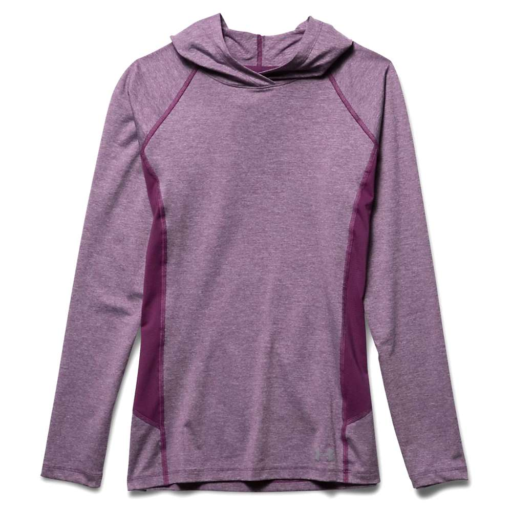Under Armour Women's Coolswitch Trail Hoodie - XL - Beet