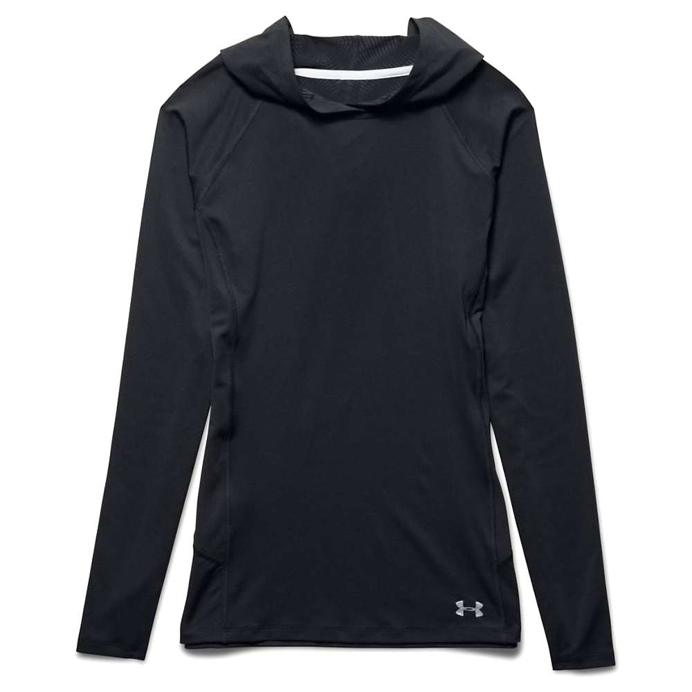 Under Armour Women's Coolswitch Trail Hoodie - XS - Black