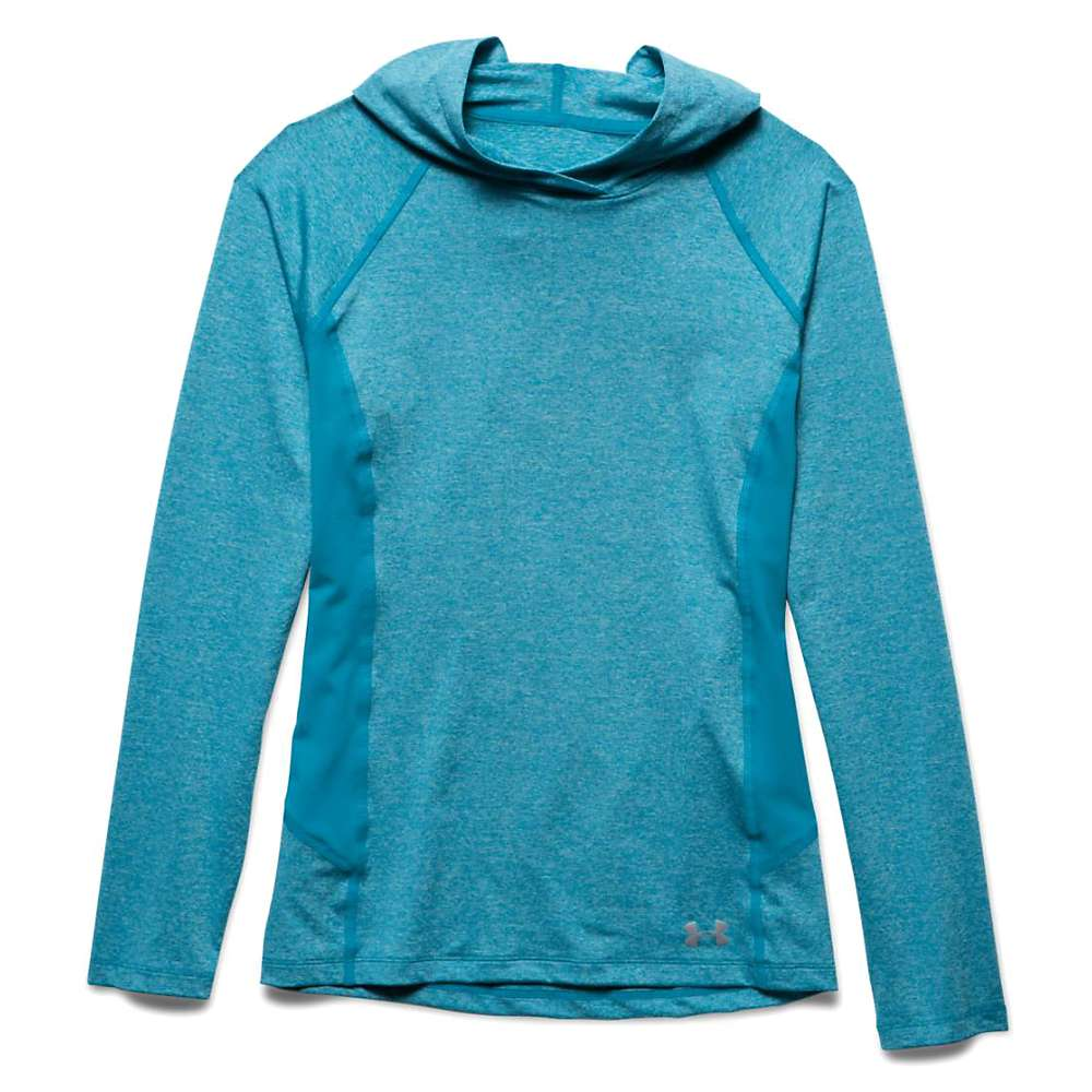 Under Armour Women's Coolswitch Trail Hoodie - Large - Aqua Blue