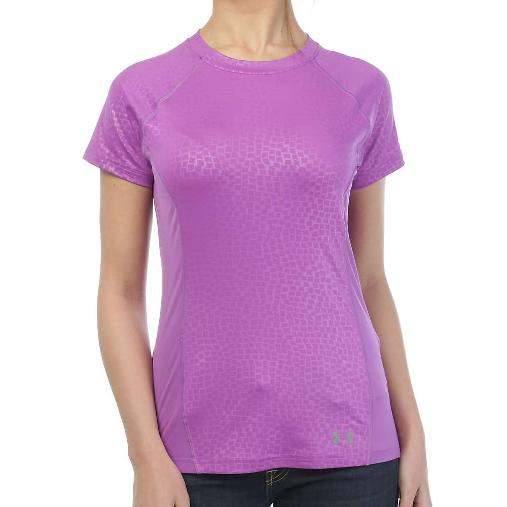 Under Armour Women's Coolswitch Trail SS Top - Small - Mega Magenta