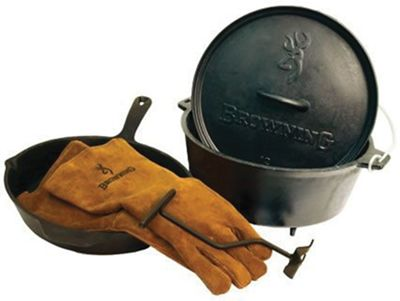 Camp Chef Browning Cast Iron Set