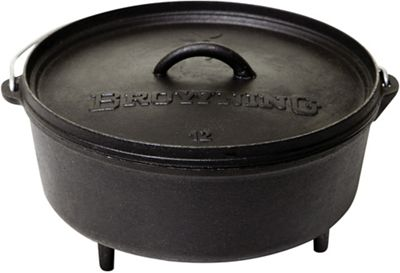Camp Chef Cast Iron Classic Browning Dutch Oven