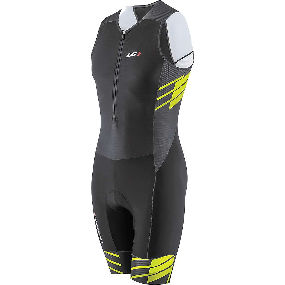 Louis Garneau Men's Pro Carbon Suit - XL - Black / Bright Yellow