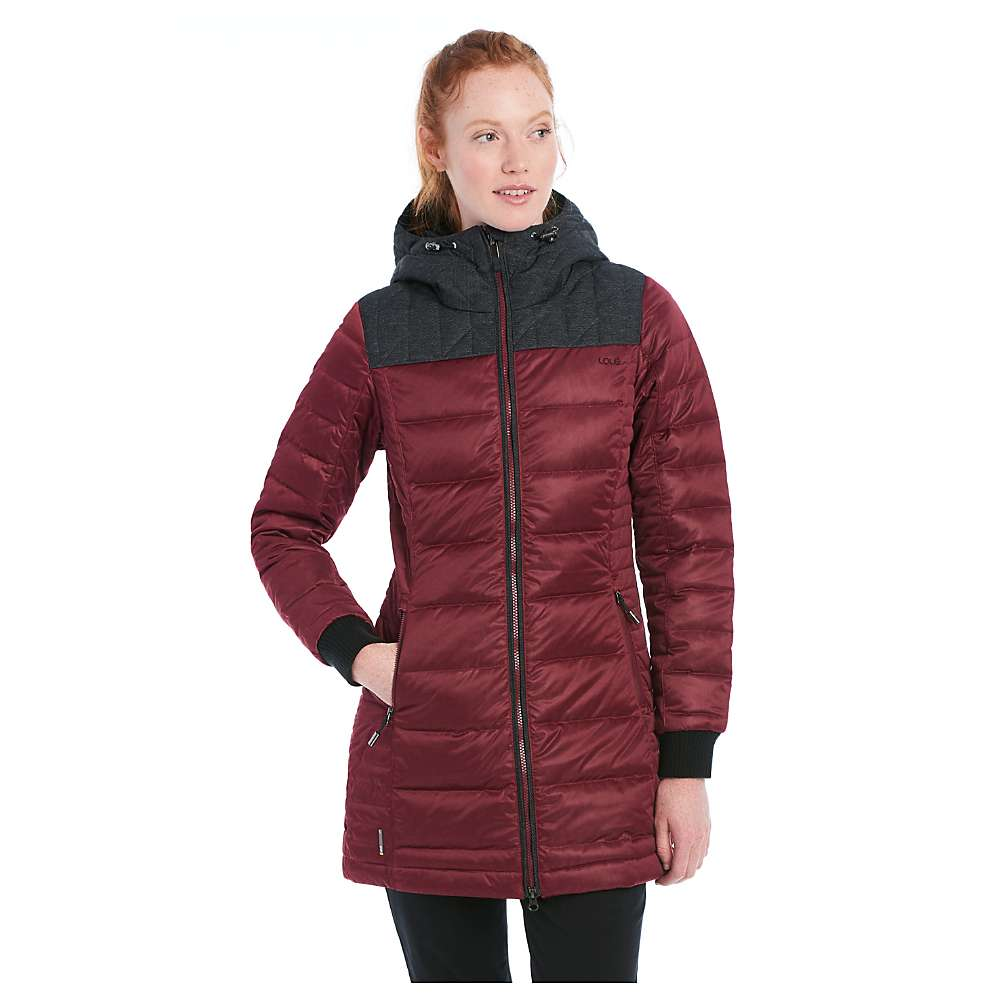Lole Women's Faith Jacket - Large - Red Sea Heather