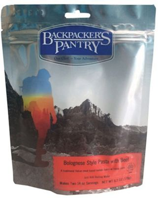 Backpacker's Pantry Bolognese Style Pasta with Beef