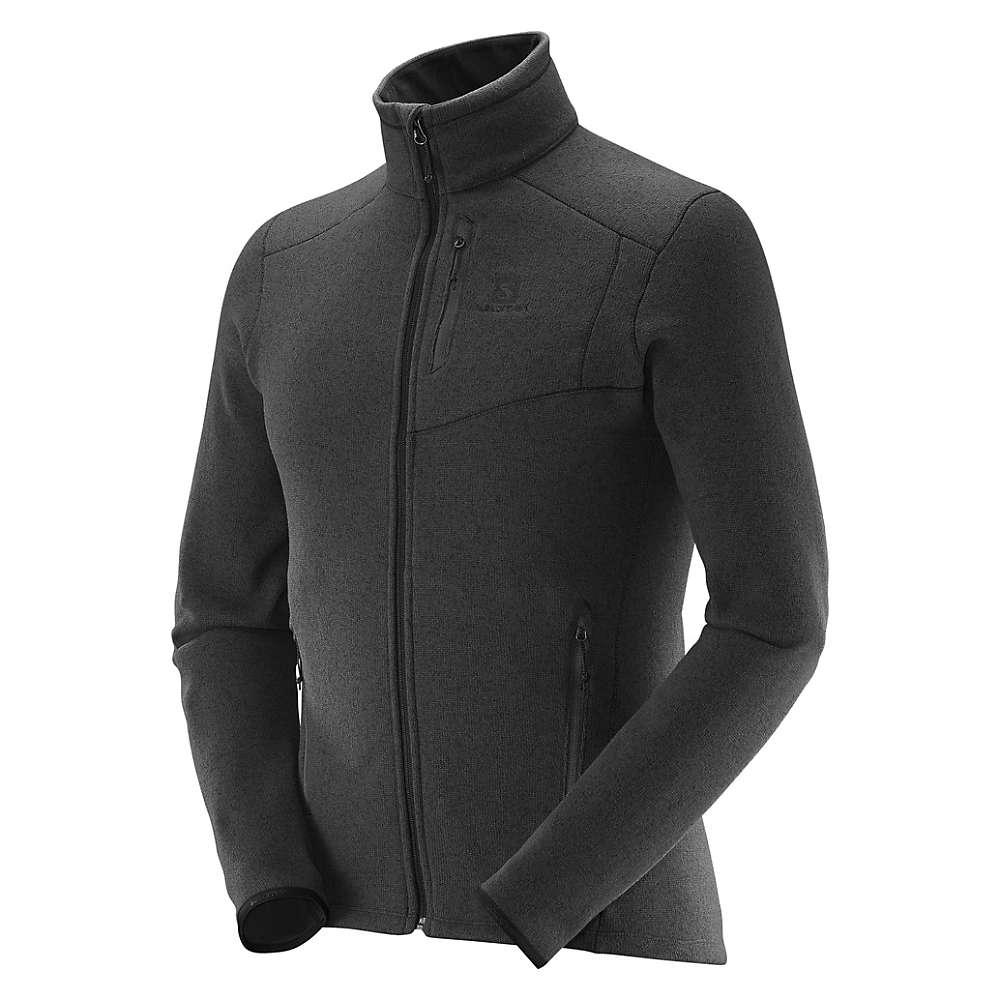 Salomon Men's Bise Fleece Top - XL - Black