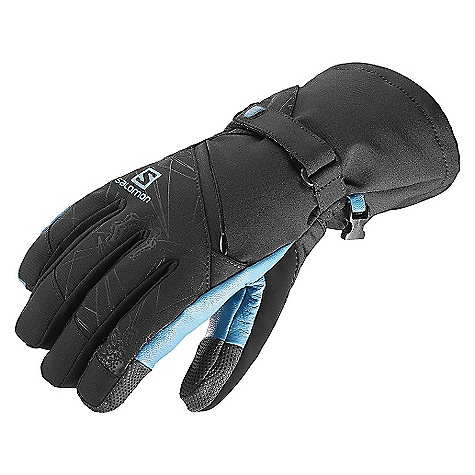 Salomon Women's Tactile Glove Black / Kouak Blue