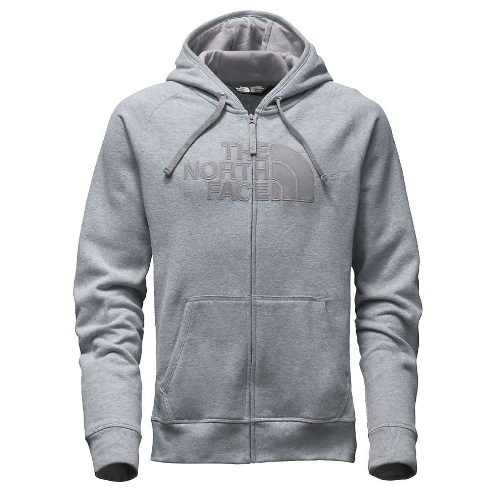 The North Face Men's Avalon Full Zip 2.0 Hoodie - Small - TNF Medium Grey Heather (STD) / Mid Grey