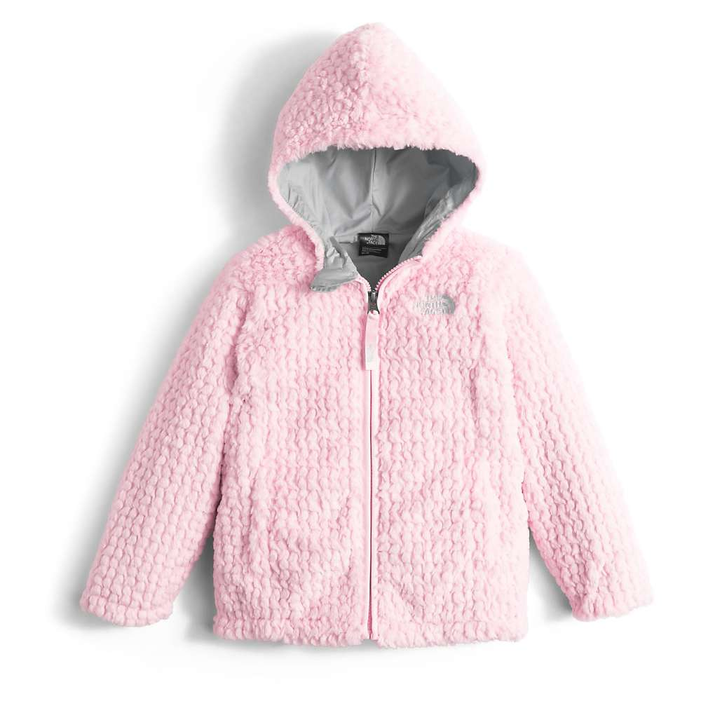 The North Face Toddler Girls' Laurel Fleece Hoodie - 4T - Coy Pink