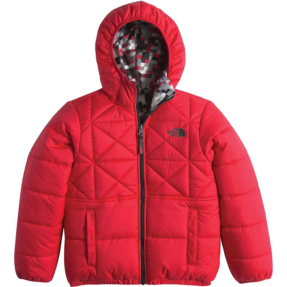 The North Face Boy's Reversible Perrito Jacket - Large - TNF Red