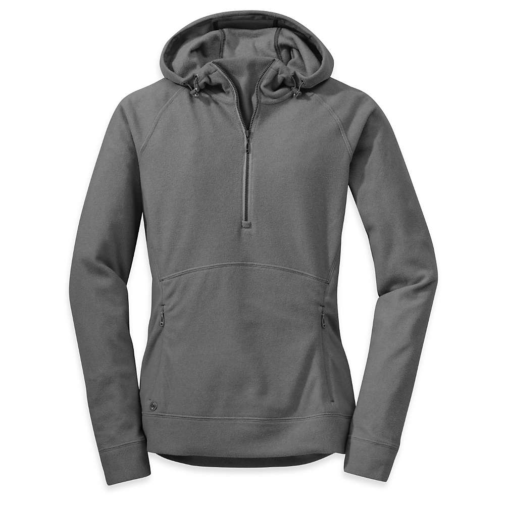 Outdoor Research Women's Antora Hoody - XL - Charcoal