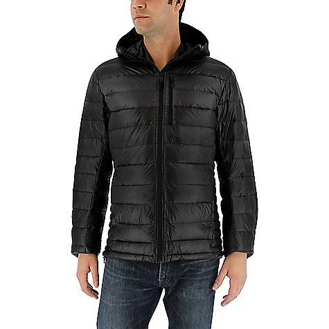 Adidas Men's Climaheat Frost Hooded Jacket Black / Utility Black