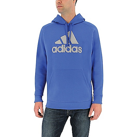 Adidas Men's Cotton Pullover Core Blue / Mgh Solid Grey