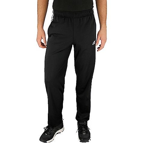 Adidas Men's Essential Track Pant Black / Black / White
