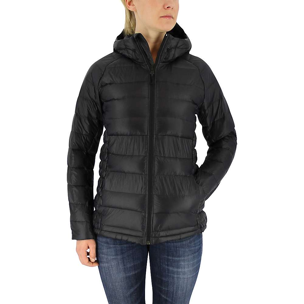 Adidas Women's Frost Hooded Jacket - Large - Black / Utility Black
