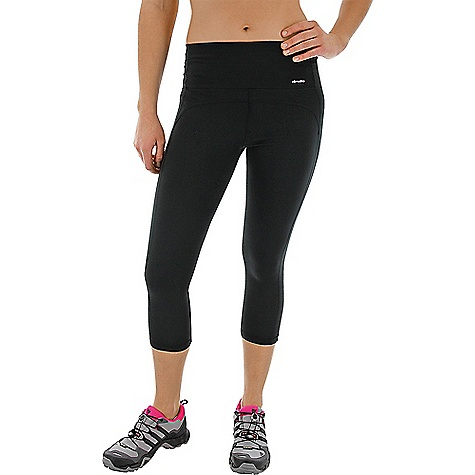 Adidas Women's Performer Mid Rise 3/4 Tight Black / Matte Silver