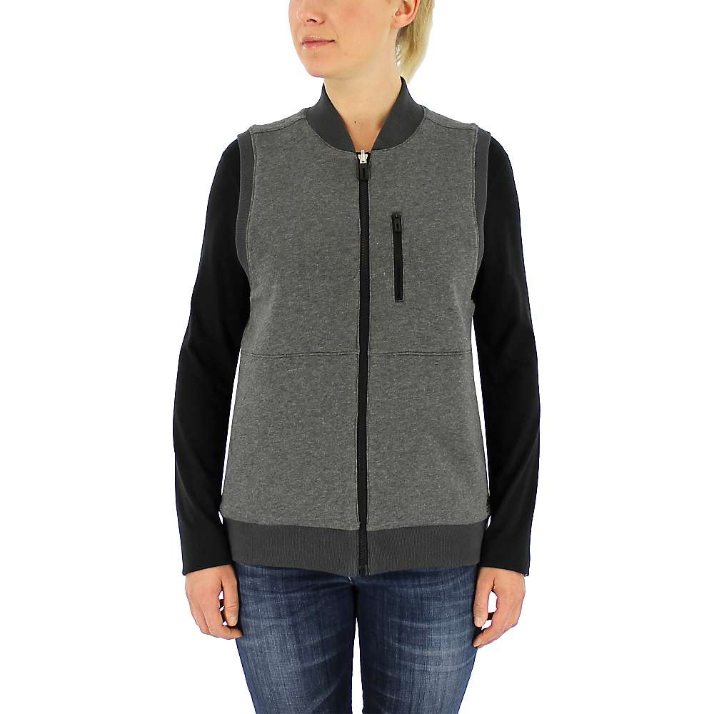 Adidas Women's Reversible Sportswear Vest - Large - Black / Dark Grey Heather