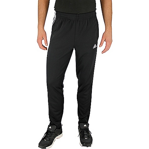 Adidas Men's Tapered Field Pant Black / White