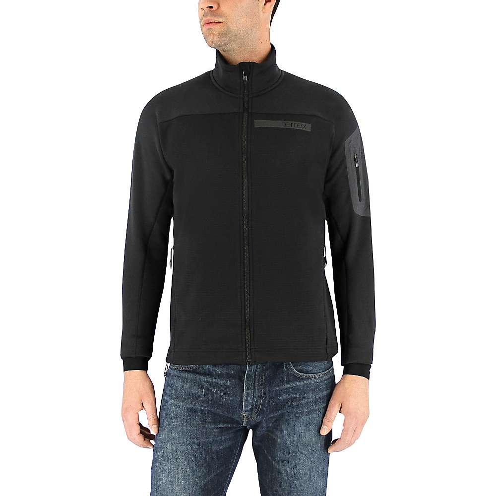 Adidas Men's Terrex Stockhorn Fleece Jacket - Small - Black