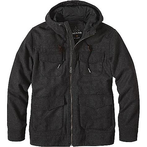 Prana Men's Field Jacket Black