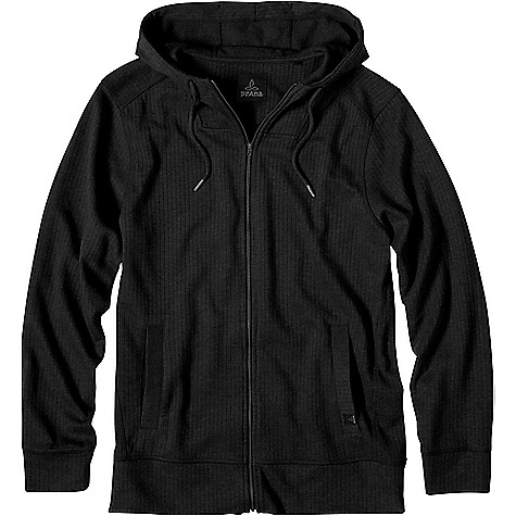 Prana Men's Hough Full Zip Hoodie Black