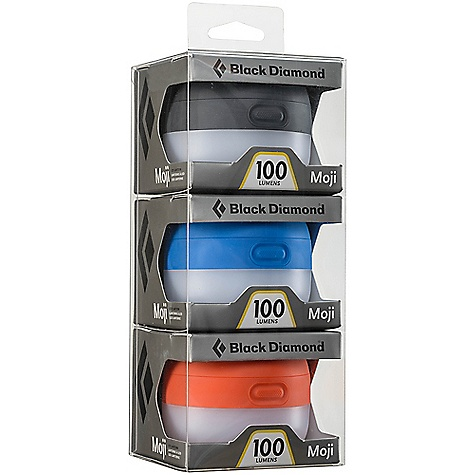 Black Diamond Moji Lantern 3 - Pack Process Blue / Vibrant Orange / Graphite