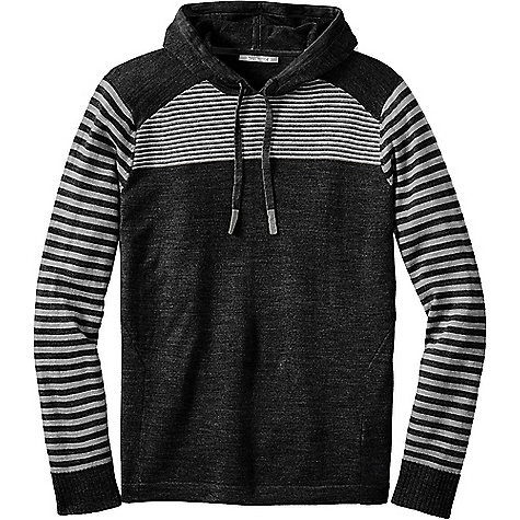 Smartwool Men's Kiva Ridge Hoody Black Stripe