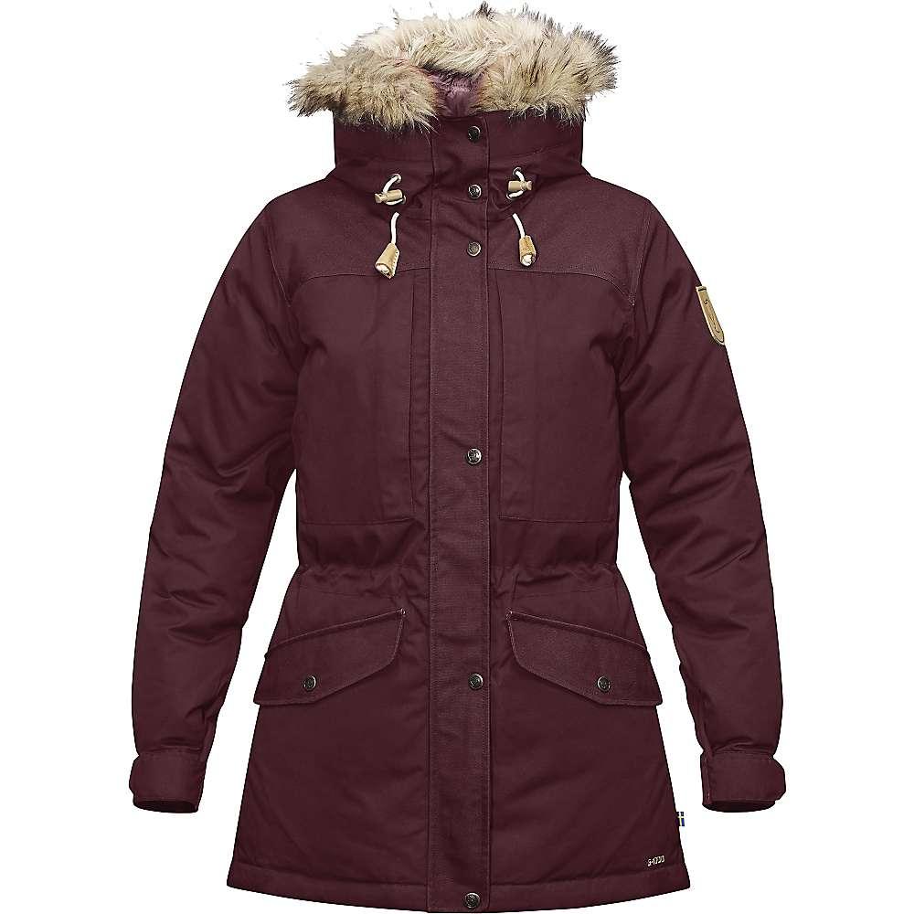 Fjallraven Women's Singi Down Jacket - Small - Dark Garnet