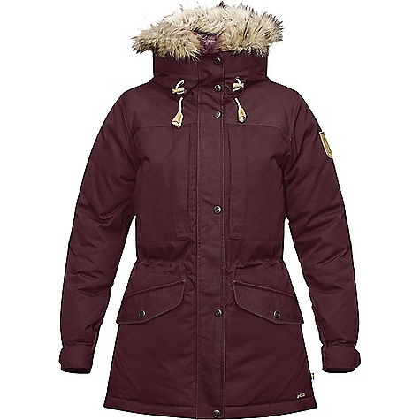 Fjallraven Women's Singi Down Jacket Dark Garnet