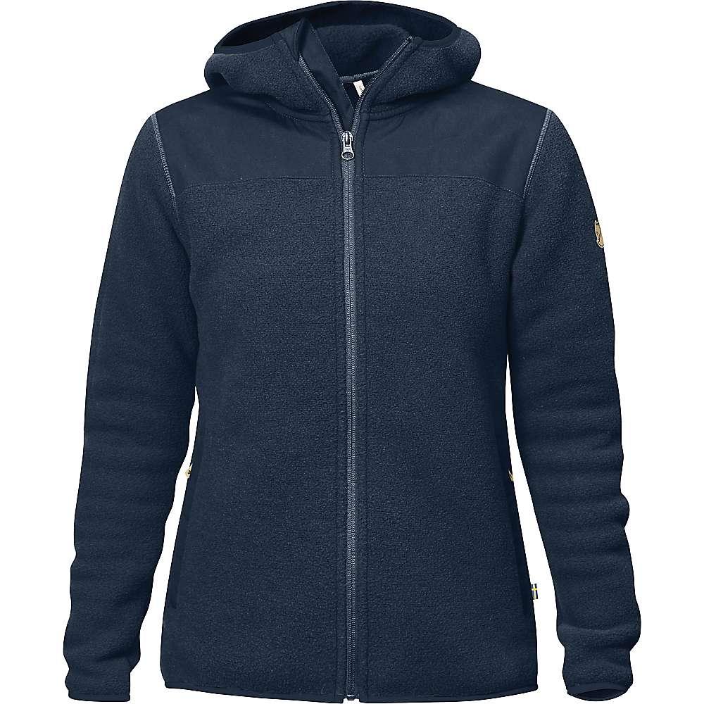Fjallraven Women's Singi Fleece Hoodie - XL - Navy