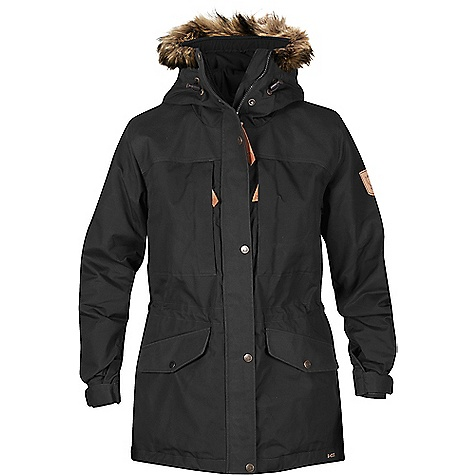 Fjallraven Women's Singi Winter Jacket Dark Grey
