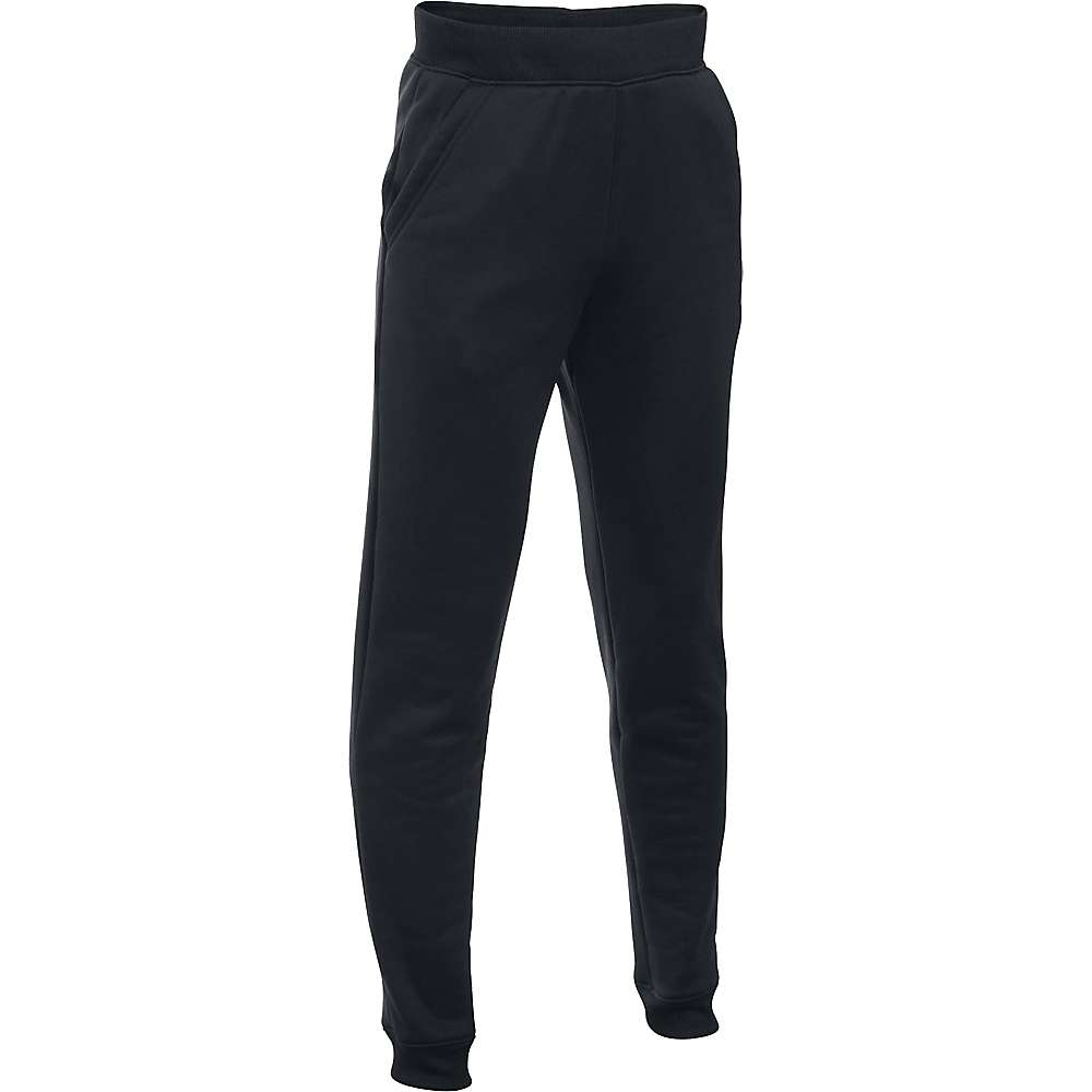 Under Armour Boy's Armour Fleece Storm Jogger Pant - XL - Black / Graphite