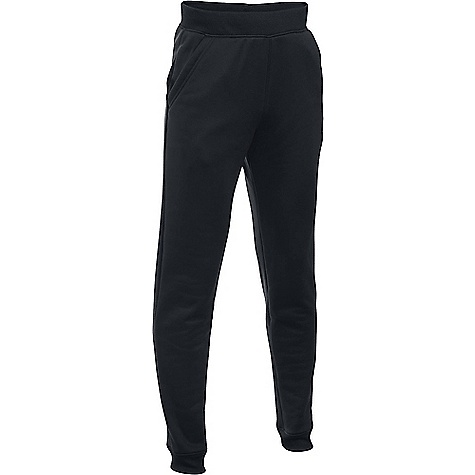 Under Armour Boy's Armour Fleece Storm Jogger Pant Black / Graphite