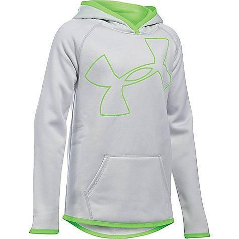Under Armour Girl's Armour Fleece Big Logo Hoody 3285351