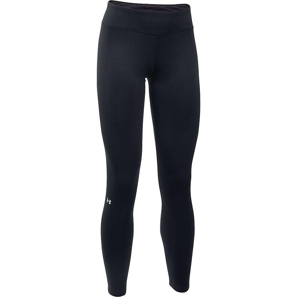 Under Armour Women's UA Base 1.0 Legging - Medium - Black / Glacier Grey