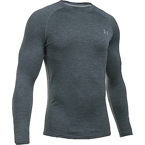Under Armour Men's UA Base 2.0 Crew Top Lead / Steel