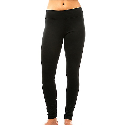 Under Armour Women's Base 3.0 Legging Black / Glacier Grey